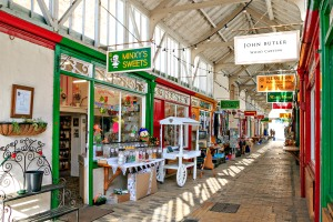 Bideford Pannier Market Butchers Row Shops