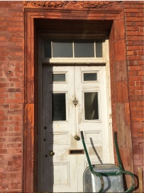 the old front door